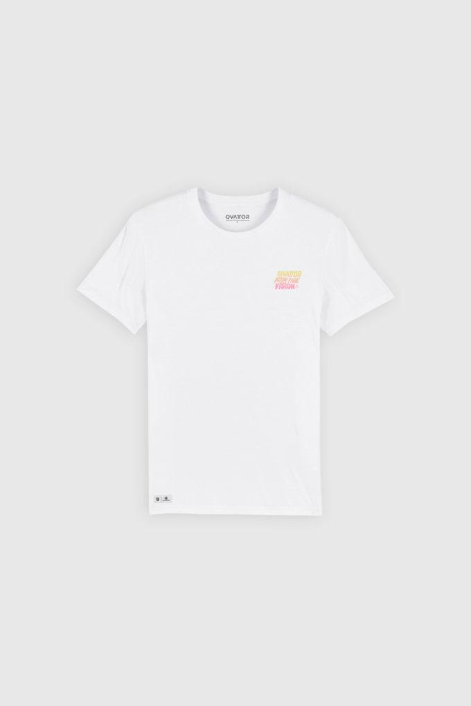 T-shirt unisexe Wave blanc